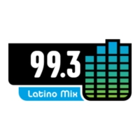 Logo of radio station KRGT Latino Mix 99.3 FM