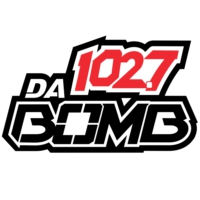 Logo of radio station KDDB 102.7 Da Bomb