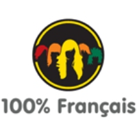 Logo of radio station 100% Français