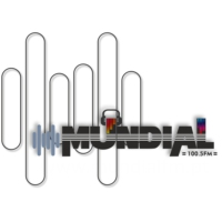Logo of radio station MundialFM