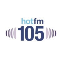 Logo of radio station Hot FM 105