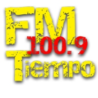 Logo of radio station FM Tiempo 100.9