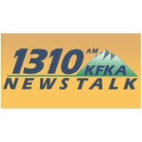 Logo of radio station KFKA News Talk 1310
