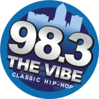 Logo of radio station KWQW 983 The Vibe