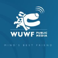 Logo of radio station WUWF NPR 88.1 FM