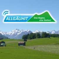 Logo of radio station AllgauHIT