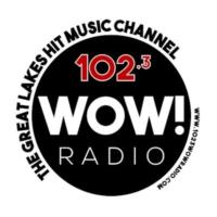 Logo of radio station 102.3 WOW! Radio