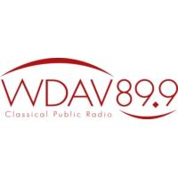 Logo of radio station WDAV 89.9 FM