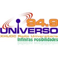 Logo of radio station XHUDC Universo 94.9