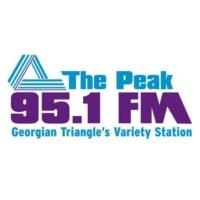 Logo of radio station The Peak 95.1 FM