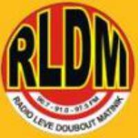 Logo of radio station RLDM - Radio Lévé Doubout Matinik