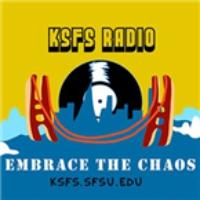 Logo of radio station KSFS