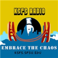 Logo of radio station KSFS