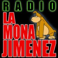Logo of radio station La Mona Jimenez