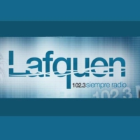 Logo of radio station FM Lafquen 102.3