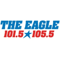 Logo of radio station KEGA The Eagle 101.5
