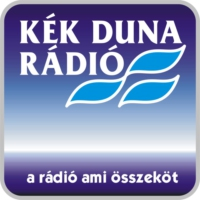 Logo of radio station KÉK DUNA Rádió Gyor 91.5
