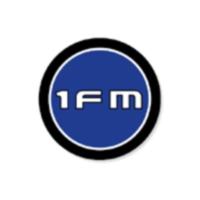Logo of radio station 1FM