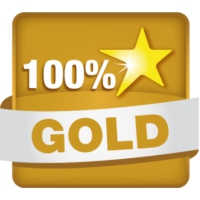 Logo of radio station Hit Radio - 100% GOLD