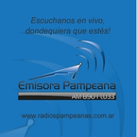 Logo de la radio Pampeana LU33 890 AM
