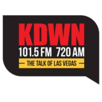 Logo of radio station KDWN 101.5 FM