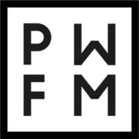 Logo of radio station PWFM - Provocative Wave for Music