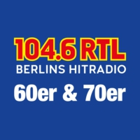 Logo of radio station 104.6 RTL 60er & 70er