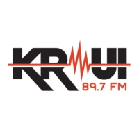 Logo of radio station KRUI 89.7 FM