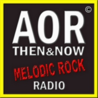 Logo of radio station AOR Then & Now