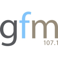 Logo of radio station GFM 107.1fm