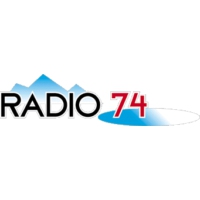Logo of radio station Radio 74