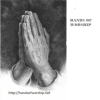 Logo de la radio Hands of Worship