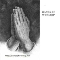 Logo of radio station Hands of Worship