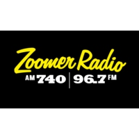 Logo of radio station CFZM Zoomer Radio AM740
