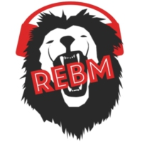 Logo of radio station REBM