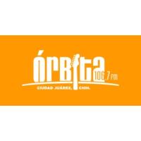 Logo de la radio XHUAR Órbita 106.7 FM
