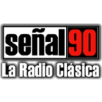 Logo of radio station Señal 90