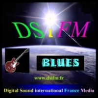 Logo of radio station DSiFM Blues