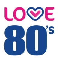 Logo of radio station Love 80's Liverpool