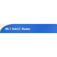 Logo of radio station KACC 89.7 FM