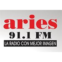 Logo de la radio Aries 91.1 FM