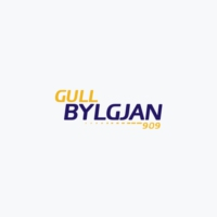 Logo of radio station Gull Bylgjan 90.9 FM