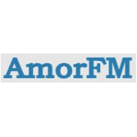 Logo of radio station Amor FM 105.4