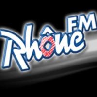 Logo of radio station Rhône FM