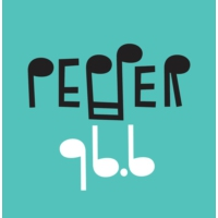 Logo de la radio Pepper 96.6