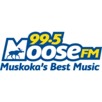 Logo of radio station CFBG-FM Moose 99.5