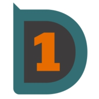 Logo of radio station D-ONE