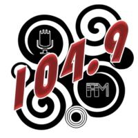Logo of radio station XHNVG La 104.9 FM