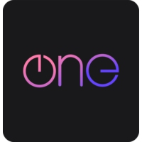 Logo of radio station The One