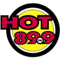Logo of radio station HOT 89.9